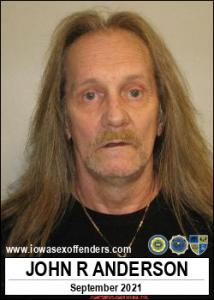 John Raymond Anderson a registered Sex Offender of Iowa