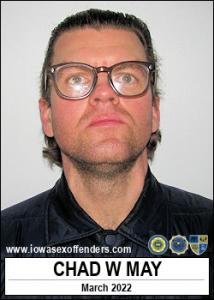 Chad William May a registered Sex Offender of Iowa
