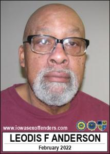 Leodis Fredric Anderson a registered Sex Offender of Iowa