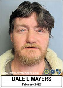 Dale Lee Mayers a registered Sex Offender of Iowa
