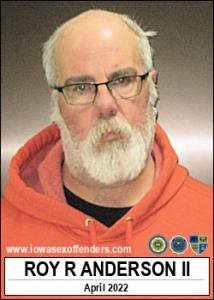 Roy Roger Anderson II a registered Sex Offender of Iowa