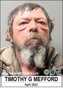 Timothy Glenn Mefford a registered Sex Offender of Iowa
