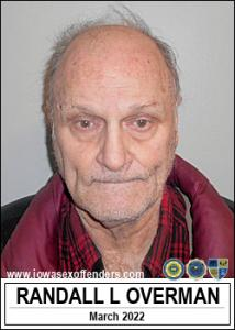 Randall Lee Overman a registered Sex Offender of Iowa