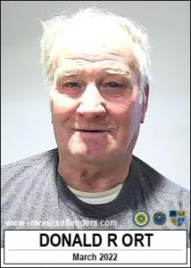 Donald Raymond Ort a registered Sex Offender of Iowa