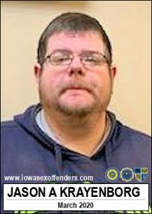 Jason Allen Krayenborg a registered Sex Offender of Iowa