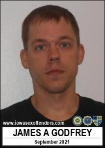 James Allen Godfrey a registered Sex Offender of Iowa