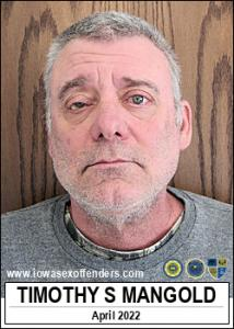 Timothy Scott Mangold a registered Sex Offender of Iowa