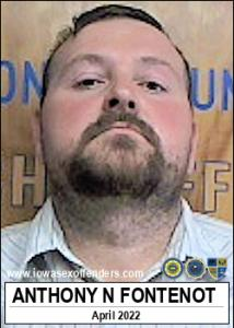 Anthony Neal Fontenot a registered Sex Offender of Iowa