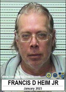Francis Donald Heim Jr a registered Sex Offender of Iowa