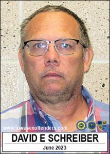 David Eugene Schreiber a registered Sex Offender of Iowa