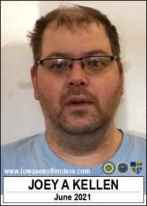 Joey Anthony Kellen a registered Sex Offender of Iowa