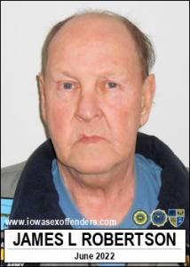 James Lynn Robertson a registered Sex Offender of Iowa