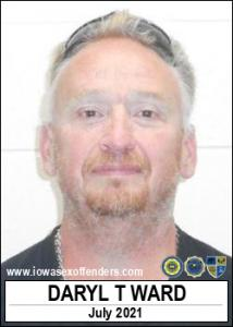 Daryl Thomas Ward a registered Sex Offender of Iowa