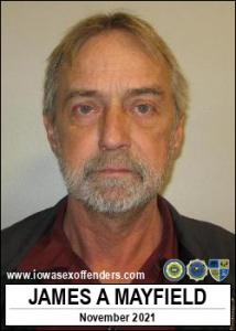 James Andrew Mayfield a registered Sex Offender of Iowa