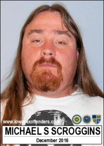 Michael Shawn Scroggins a registered Sex Offender of Iowa