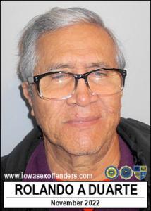 Rolando Armengol Duarte a registered Sex Offender of Iowa
