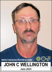 John Clark Wellington a registered Sex Offender of Iowa