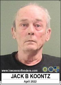 Jack Bradford Koontz a registered Sex Offender of Iowa