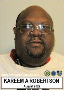 Kareem Abdul Jamil Robertson a registered Sex Offender of Iowa