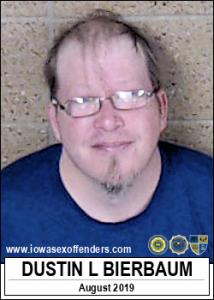 Dustin Lee Bierbaum a registered Sex Offender of Iowa