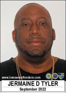 Jermaine Damond Tyler a registered Sex Offender of Iowa