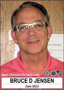 Bruce Dean Jensen a registered Sex Offender of Iowa