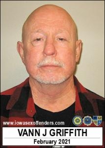 Vann Joe Griffith a registered Sex Offender of Iowa
