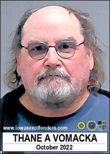 Thane Allen Vomacka a registered Sex Offender of Iowa