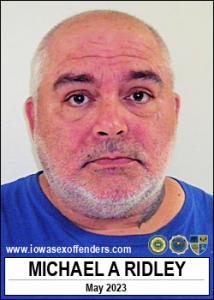 Michael Allen Ridley a registered Sex Offender of Iowa