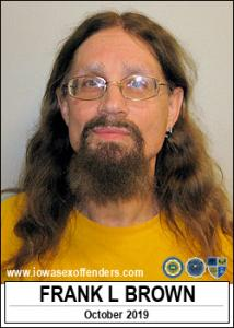 Frank Leroy Brown a registered Sex Offender of Iowa