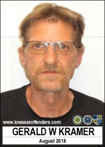 Gerald Wayne Kramer a registered Sex Offender of Iowa