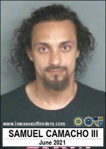 Samuel Camacho III a registered Sex Offender of Iowa