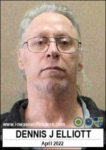 Dennis James Elliott a registered Sex Offender of Iowa