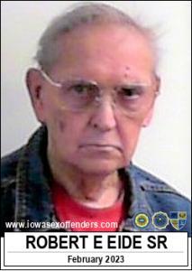 Robert Eugene Eide Sr a registered Sex Offender of Iowa