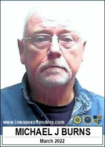 Michael Joseph Burns a registered Sex Offender of Iowa