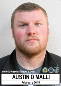 Austin Donald Malli a registered Sex Offender of Iowa