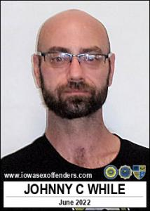 Johnny Charles While a registered Sex Offender of Iowa