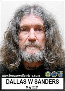 Dallas Warren Sanders a registered Sex Offender of Iowa
