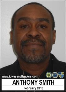 Anthony Smith a registered Sex Offender of Iowa