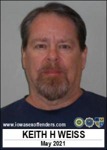 Keith Harrison Weiss a registered Sex Offender of Iowa