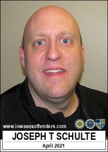 Joseph Thomas Schulte a registered Sex Offender of Iowa