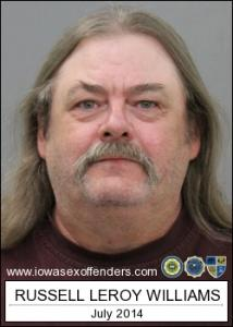 Russell Leroy Williams a registered Sex Offender of Iowa