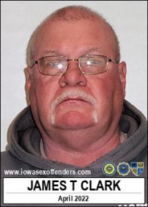 James Thomas Clark a registered Sex Offender of Iowa
