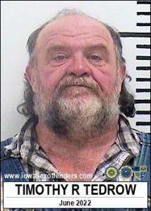 Timothy Ronald Tedrow a registered Sex Offender of Iowa