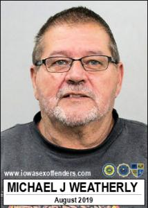 Michael Jon Weatherly a registered Sex Offender of Iowa