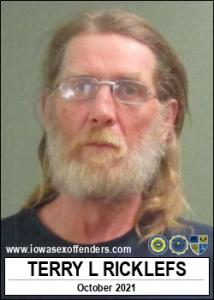 Terry Lee Ricklefs a registered Sex Offender of Iowa