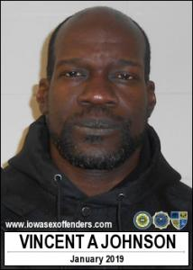 Vincent Antone Johnson a registered Sex Offender of Iowa