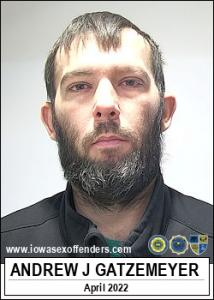 Andrew Jacob Gatzemeyer a registered Sex Offender of Iowa