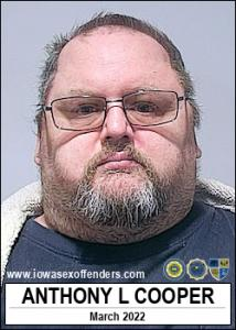 Anthony Lee Cooper a registered Sex Offender of Iowa