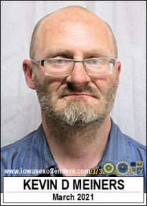 Kevin David Meiners a registered Sex Offender of Iowa